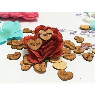 Geburtstag Babyparty Holz Hochzeits-Dekorationen Blumen Weinlese-Thema rustikales Theme Winter Frühling Sommer Herbst