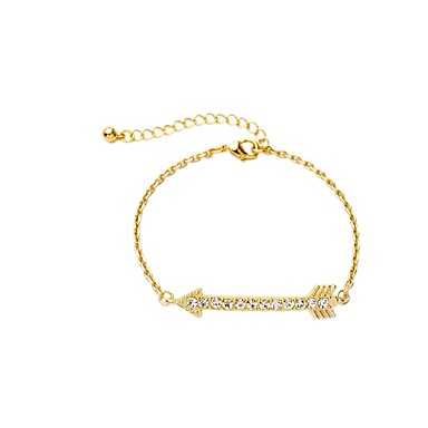 Dame Kæde & Lænkearmbånd Mode Europæisk Legering Geometrisk form Gylden Smykker For 1 Stk.
