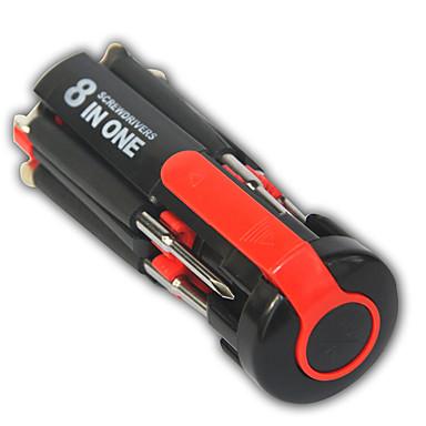 povoljno Alat za popravak-8 u 1 Multi prijenosni odvijač set alata