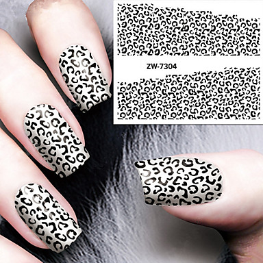 Apprensivo Sticker Nail Art Nail Decalcomanie Trasferimento Di Acqua #05140728