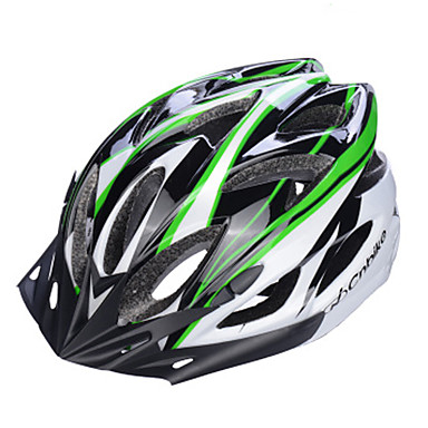 Bjerg / Vej / Sport / Half Shell-Unisex-Cykling / Bjerg Cykling / Vej Cykling / Rekreativ Cykling / Andre-Hjelm(Gul / Hvid / Grøn / Rød /