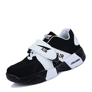 Sneakers-TylHerre-Sort Sort og Hvid-Sport-Flad hæl