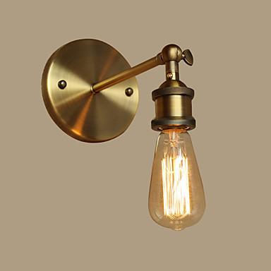 Traditionel / Klassisk Vegglamper Metall Vegglampe 110-120V / 220-240V Max 60W / E26 / E27