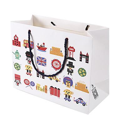 hvit farge annet materiale emballasje& forsendelsesposer 5 pakker