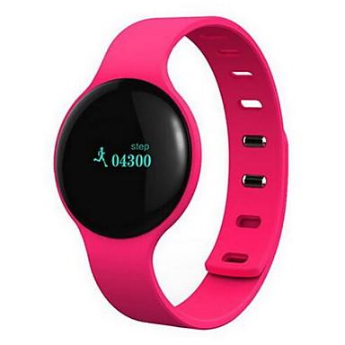 Homens Mulheres Relógio Inteligente Digital LED sensível ao toque Controle Remoto Calendário alarme Podômetro Monitores de Atividades