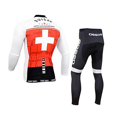 Tøjsæt/Jakkesæt CykelÅndbart / Hurtigtørrende / Ultraviolet Resistent / Påførelig / Anti-skridning / Svedreducerende / Lavfriktions /