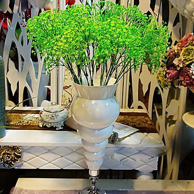 Kunstbloemen 1pcs Tak Moderne Style Gipskruid Bloemen voor op tafel