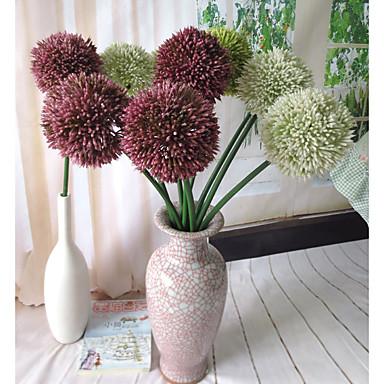 Flores artificiais 1 Ramo Estilo Moderno Hortênsia Flor de Mesa