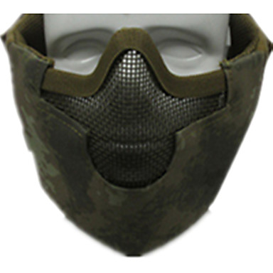 grøn farve andet tilbehør materiale beskyttelse udendørs krigsspil fg maske beskyttelse