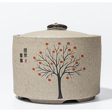 bruine kleur ander materiaal verpakking& verzending keramische pot