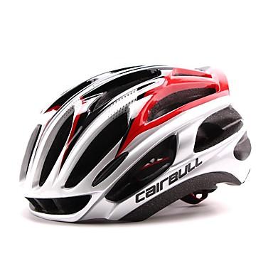 Capacete de bicicleta 24 Aberturas CE CE EN 1077 Ciclismo Ajustável Ultra Leve (UL) Esportivo PC EPS Ciclismo / Moto Bicicleta De