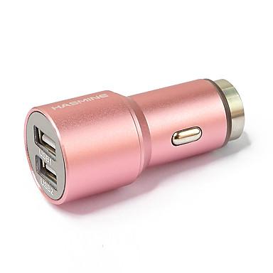 Dual-USB-Auto-Adapter für den Zigarettenanzünder für Smartphones und Tabs