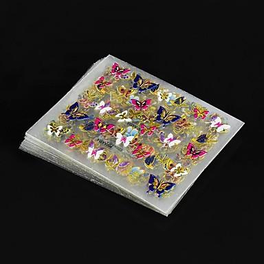 povoljno Naljepnice za nokte-24 pcs Nakit za nokte nail art Manikura Pedikura Lijep Klasik Dnevno / plastika