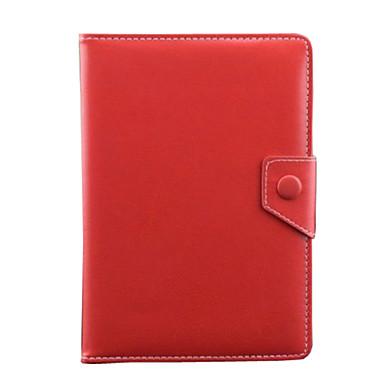 PU-Leder Volltonfarbe Tablet-Hüllen Universell 7