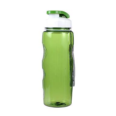 Wasserflasche Einzeln Tragbar PP Außen für Camping & Wandern Orange Grün Blau