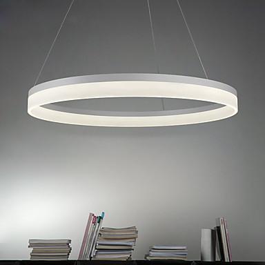 Plafond Lichten & hangers Sfeerverlichting - LED, Modern / Hedendaags, 90-240V, Warm Wit Wit, Lamp Inbegrepen