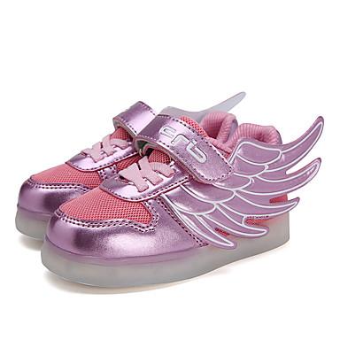 Sneakers-Tyl PU-Komfort-Piger-Lilla-Fritid-Flad hæl
