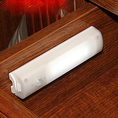 1pc levou o corpo de indução originalidade armário de cabeceira lâmpada de luz da noite