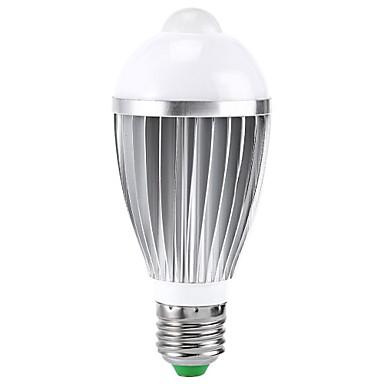 B22 E26/E27 Slimme LED-lampen A50 1 leds Krachtige LED Sensor Infrarood Sensor RGB 400-550lm 2000-3500K AC 85-265V