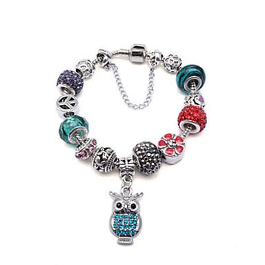 Dames Strand Armbanden - Sterling zilver Sierstenen, Modieus Armbanden Voor Dagelijks / Causaal