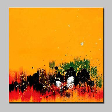 Håndmalte Abstrakt Kvadrat, Moderne Lerret Hang malte oljemaleri Hjem Dekor Et Panel
