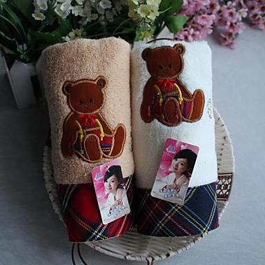 Vaskehåndklæde,Mønstret Høj kvalitet 100% Bomuld Håndklæde