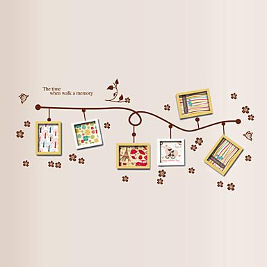 Muoti Wall Tarrat Lentokone-seinätarrat Koriste-seinätarrat / Valokuvatarrat,PVC materiaali Irroitettava Kodinsisustus Seinätarra