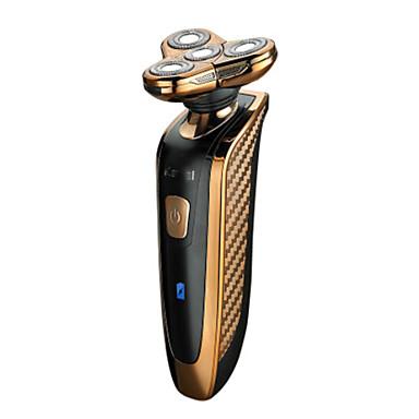 Elektrisk barbermaskine Overskæg & skæg Elektrisk Vandtæt Tør/Våd Barbering Rustfrit Stål Kemei