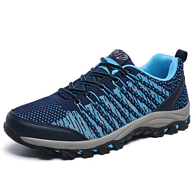 Sneakers-PU-Komfort-Herre-Blå Grøn Rød-Sport-Flad hæl