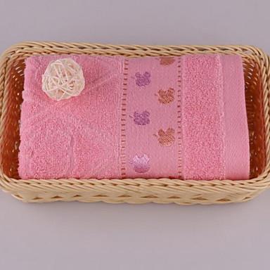 absorberende bomuld udvidet diskontinuitet jacquard æble håndklæde