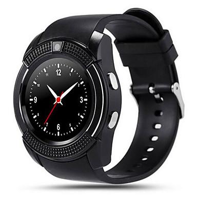 Smart Watch Kosketusnäyttö Askelmittarit Kamera Anti-lost Audio Activity Tracker Sleep Tracker Herätyskello Puhelumuistutus Bluetooth 3.0
