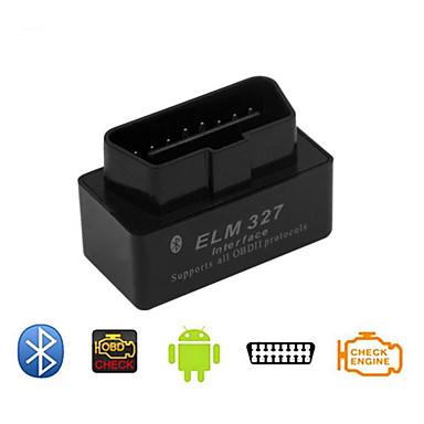 super mini obd2 elm327 zwarte v2.1 versie van het voertuig detector