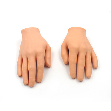 Diy 3d Synthetic Tattoo Practice Hand Top Soft Silicone Fake