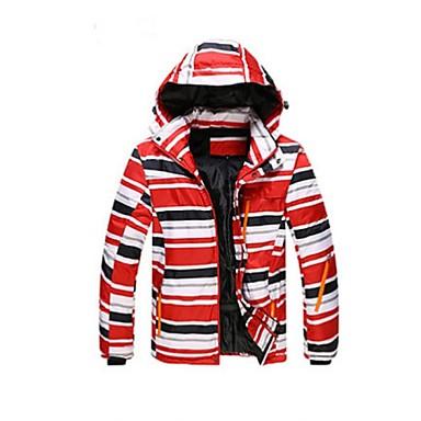Skikleding Ski/snowboardjassen Heren Winteroutfit Polyester Winterkleding Houd Warm Winddicht DraagbaarKamperen&Wandelen Sneeuwsporten