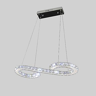 Vedhæng Lys Baggrundsbelysning - Krystal LED, Moderne / Nutidig, 110-120V 220-240V Pære Inkluderet