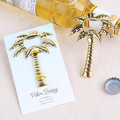 Bottle Favor 1Stück / Set Flaschenöffner Klassisches Thema Nicht-individualisiert Rostfreier Stahl Golden