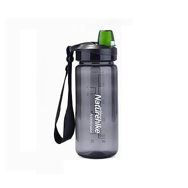 Waterfles Enkel draagbaar PP / BPA-vrij Buiten voor Kamperen&Wandelen Zwart