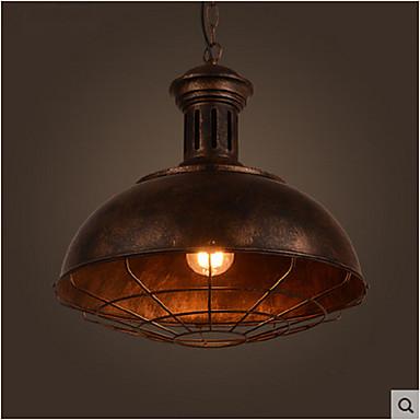 Luzes Pingente ,  Vintage Pintura Característica for LED Designers MetalSala de Estar Quarto Sala de Jantar Cozinha Quarto de