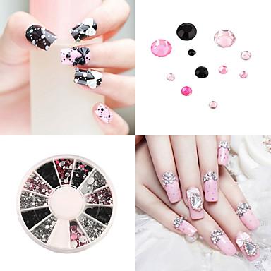 1 pcs Rhinsten Negle kunst Manicure Pedicure Daglig glitter / Klassisk / ABS
