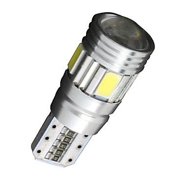 SO.K 4stk T10 Bil Elpærer SMD 5630 180lm 6 interiør Lights