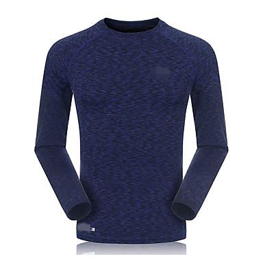 Herrn Langärmelige Laufen Sweatshirt Atmungsaktiv Rasche Trocknung Schweißableitend Videokompression Frühling Sommer Sportbekleidung