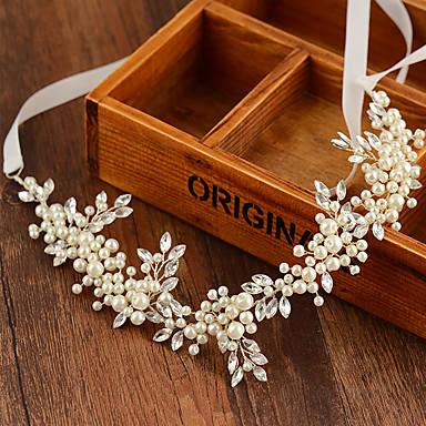 diadema imitación perla casco estilo femenino clásico