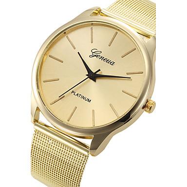 Unisex Armbåndsur Quartz / Legering Bånd Charm Armbånd Guld Guld Lys pink