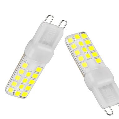 G9 Luminárias de LED  Duplo-Pin T 28 LEDs SMD 2835 Regulável Impermeável Decorativa Branco Quente Branco Frio Branco Natural 350-450lm