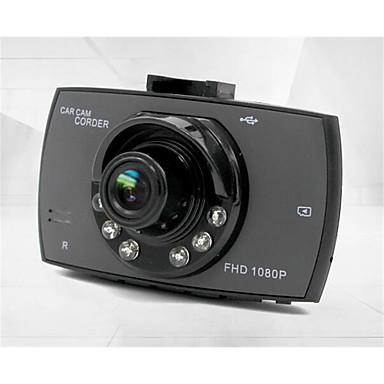 billige Bil-DVR-g30 480p / 720p / 1080p Bil DVR 120 grader Bred vinkel 4.3 tommers Dash Cam med Bevegelsessensor 6 infrarøde LED Bilopptaker