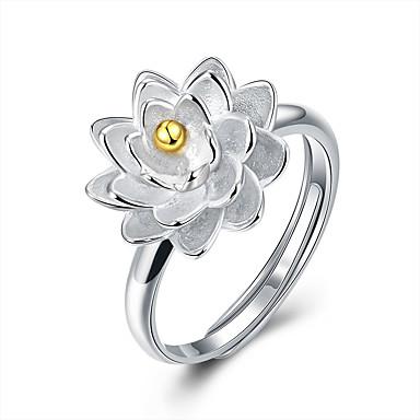 Ringen Sexy / Modieus Bruiloft / Feest / Dagelijks / Causaal Sieraden Sterling zilver Dames Statementringen 1 stuks,Verstelbaar Zilver