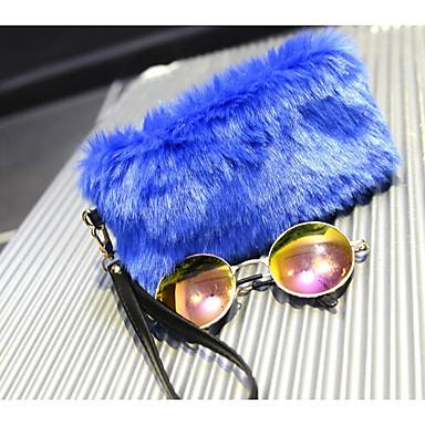 Damen Geldbörse Andere Lederart Gewerbliche Verwendungen Schwarz Fuchsia Braun Blau Rosa