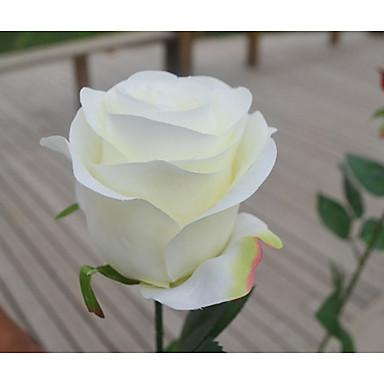 Polyesteri Wedding Kunniamerkit-1Piece / Set Tekokukka Ystävänpäivä / Häät Klassinen teemaValkoinen / Punainen / Vaaleanpunainen / Fuksia