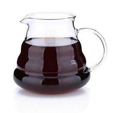 høj temperatur resistente skyer deler glas kaffekande (360 ml)