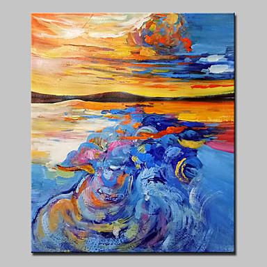 Pintados à mão Abstrato Fantasia Vertical,Clássico 1 Painel Tela Pintura a Óleo For Decoração para casa